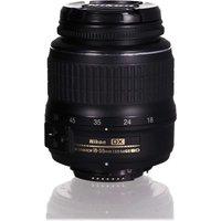Nikon AF-S DX NIKKOR 18-55mm F3.5-5.6 ED G II 52 mm filter (geschikt voor Nikon F) zwart