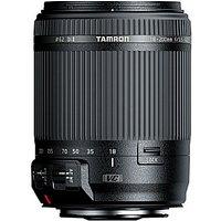 Tamron 18-200 mm F3.5-6.3 Di VC II 62 mm Objetivo (Montura Nikon F) negro