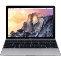 Apple MacBook 12 (retina-display) 1.1 GHz Intel Core M 8 GB RAM 256 GB PCIe SSD [Early 2015] QWERTY toetsenbord spacegrijs