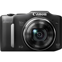 Canon PowerShot SX160 IS zwart
