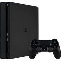 Sony PlayStation 4 slim 1 TB [incl. draadloze controller] zwart