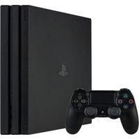 Sony Playstation 4 pro 1 TB [incl. draadloze controller] zwart