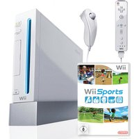 Nintendo Wii [incl. controller en Wii Sports, Game Cube compatibel] wit