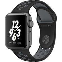 Apple Watch Nike+ Series 2 42mm Caja de aluminio en gris espacial con correa Nike Sport antracita negra [Wifi]