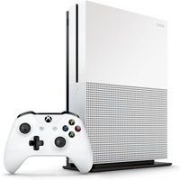 Xbox One S 500GB [incl. draadloze controller, verticale standaard] wit