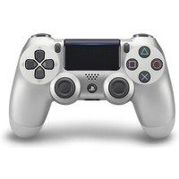 Sony PS4 DualShock 4 draadloze controller zilver [2e versie]