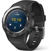Huawei Watch 2 45 mm met zwarte sportband [wifi] zwart