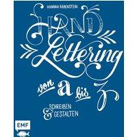 Handlettering von A bis Z: Schreiben und gestalten - Hannah Rabenstein [Gebundene Ausgabe]