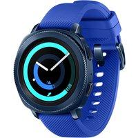 Samsung Gear Sport 30,2 mm blauw met silicone bandje blauw