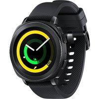 Samsung Gear Sport 30,2 mm zwart met silicone bandje zwart