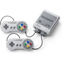 Nintendo Classic Mini: Super Nintendo Entertainment System [incl. 2 controllers] grijs
