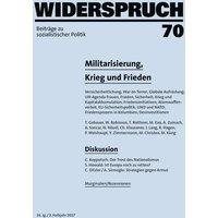 Widerspruch 70. Beiträge zu sozialistischer Politik - Peter Weishaupt  [Taschenbuch]