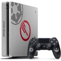 Sony PlayStation 4 1 TB [Star Wars Battlefront 2 Special Edition incl. draadloze controller, zonder spel] grijs