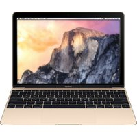 Apple MacBook 12 (retina-display) 1.1 GHz Intel Core M 8 GB RAM 256 GB PCIe SSD [Early 2015, QWERTY-toetsenbord] goud