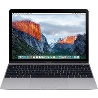 Apple MacBook 12 (retina-display) 1.1 GHz Intel Core M3 8 GB RAM 256 GB PCIe SSD [Early 2016, QWERTY-toetsenbord] spacegrijs