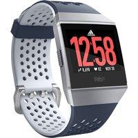 Fitbit Ionic 36mm platagris con correa de silicona gris