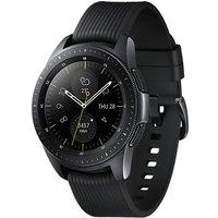 Samsung Galaxy Watch 42 mm zwart met siliconenarmband [wifi] zwart