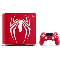 Sony Playstation 4 1 TB [Spider-Man Limited Edition incluye mando inalámbrico] rojo