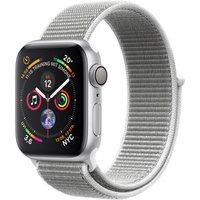 Apple Watch Series 4 40mm caja de aluminio en plata y correa Loop deportiva en color nácar [Wifi]