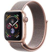 Apple Watch Series 4 40mm caja de aluminio en oro y correa Loop deportiva rosa arena [Wifi]