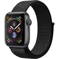 Apple Watch Series 4 40 mm aluminium spacegrijs met geweven bandje [wifi] zwart