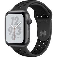 Apple Watch Nike+ Series 4 44 mm aluminium space gijs met Nike sportarmbandje [wifi] grijszwart
