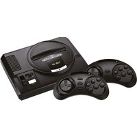 AtGames Sega Mega Drive Flashback HD [Edición 2019, incluye ranura para tarjetas SD] negro
