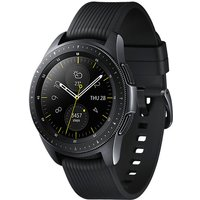 Samsung Galaxy Watch 42 mm zwart met siliconenarmband [wifi + 4G] zwart