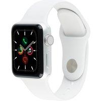 Apple Watch Series 3 38mm Caja de aluminio plata con correa deportiva blanco suave [Wifi]