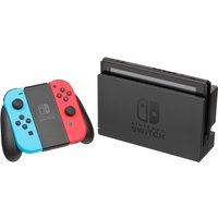 Nintendo Switch 32GB [nieuwe editie 2019 incl. controller roodblauw] zwart