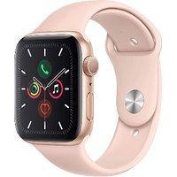 Apple Watch Series 5 44 mm Caja de aluminio oro con Correa deportiva rosa arena [Wifi]