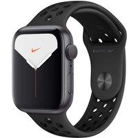 Apple Watch Nike+ Series 5 44 mm Aluminiumgehäuse space grau am Nike Sportarmband anthrazit/schwarz [Wi-Fi]