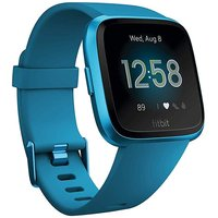 Fitbit Versa Lite 34mm aluminium azul con correa de silicona azul océano [Wifi]