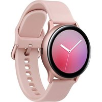 Samsung Galaxy Watch Active2 44 mm Aluminiumgehäuse gold am Sportarmband gold [Wi-Fi]