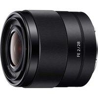 Sony FE 28 mm F2.0 28 mm Objetivo (Montura Sony E-mount) negro