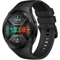 Huawei Watch GT 2e zwart met siliconenarmband zwart