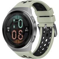 Huawei Watch GT 2e 46 mm plata con correa de silicona verde