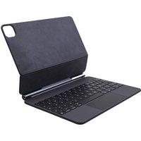 Apple Magic Keyboard schwarz für das iPad Pro 11 [2. Generation, englisches Tastaturlayout, QWERTY]