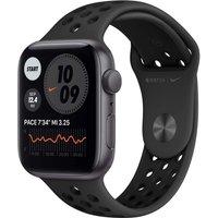 Apple Watch Nike Series 6 44 mm Caja de aluminio en gris espacial - Correa Nike Sport antracita/negro [Wifi]