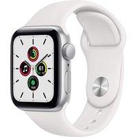 Apple Watch SE 40 mm Caja de aluminio en plata - Correa deportiva blanca [Wifi]