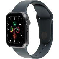 Apple Watch SE 44 mm Caja de aluminio en gris espacial - Correa deportiva negra [Wifi]