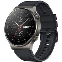 Huawei Watch GT 2 Pro 47 mm gris con correa de silicona negra