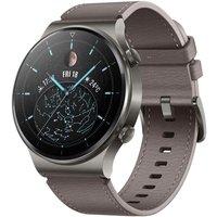 Huawei Watch GT 2 Pro 47 mm gris con correa de cuero gris