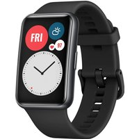Huawei Watch Fit 46 mm negro con correa de silicona negra