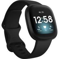 Fitbit Versa 3 40 mm negro con correa de silicona negra [Wifi]