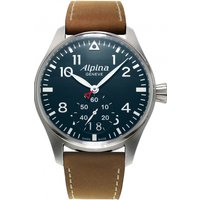 mens alpina startimer pilot watch al280n4s6