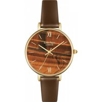 ladies lola rose tigers eye watch lr2030