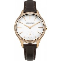 ladies karen millen watch km112trga