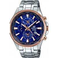 mens casio edifice world time alarm chronograph watch efr304pg2avuef