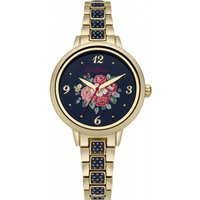 ladies cath kidston forest bunch navy spot bracelet watch ckl008ugm